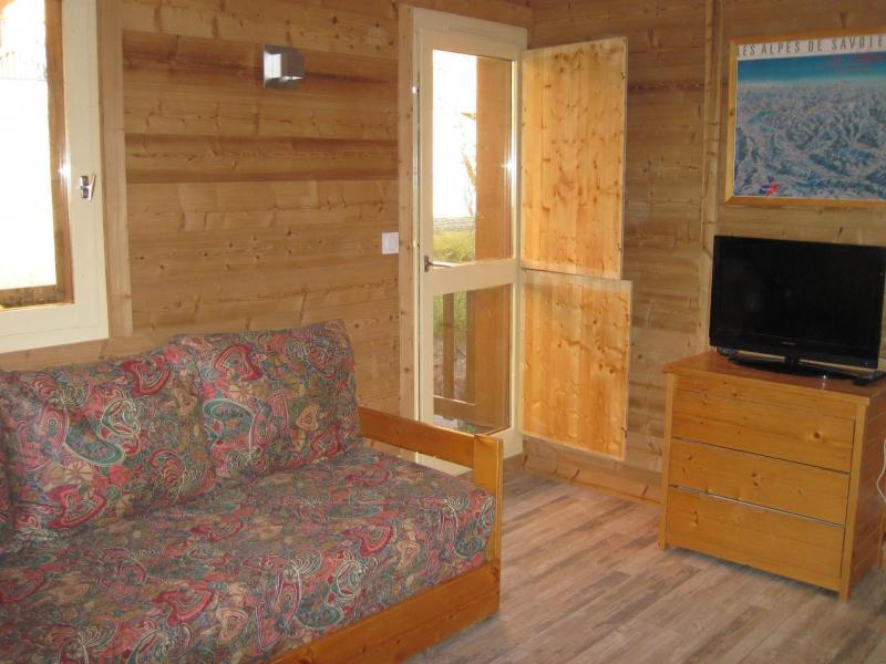 Holiday in mountain resort 2 room apartment 5 people (CSD6) - La Résidence les Côtes - Montchavin - La Plagne - Living room