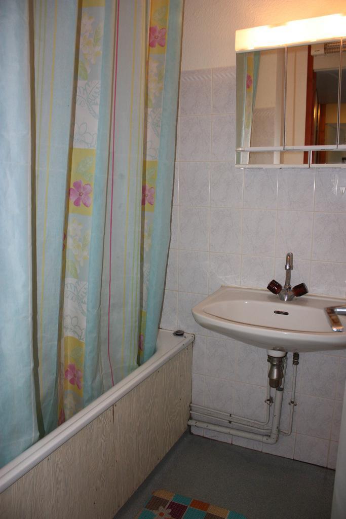 Holiday in mountain resort 2 room apartment 6 people (CSA1) - La Résidence les Côtes - Montchavin - La Plagne - Bathroom