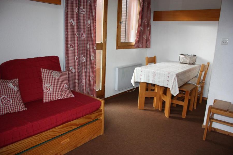 Holiday in mountain resort 2 room duplex apartment 6 people (CSD8) - La Résidence les Côtes - Montchavin - La Plagne - Living room