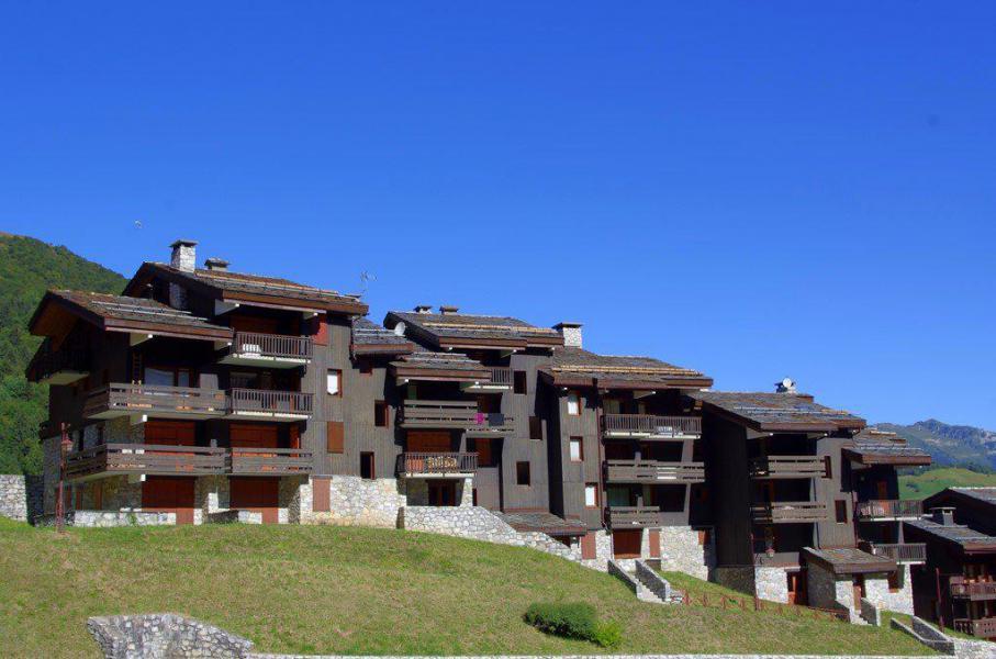 Wakacje w górach Studio 5 osób (G106) - La Résidence les Côtes - Valmorel - Na zewnątrz latem