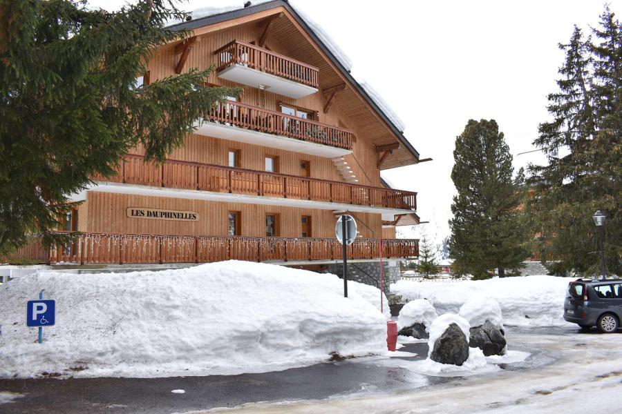 Vacances en montagne Studio coin montagne 4 personnes (MRB220-028) - La Résidence les Dauphinelles - Méribel