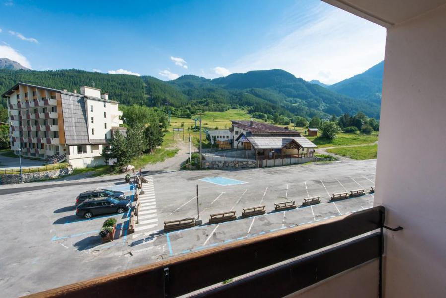 Wakacje w górach Studio z alkową 4 osoby (ECLEL) - La Résidence les Ecrins - Serre Chevalier - Na zewnątrz latem