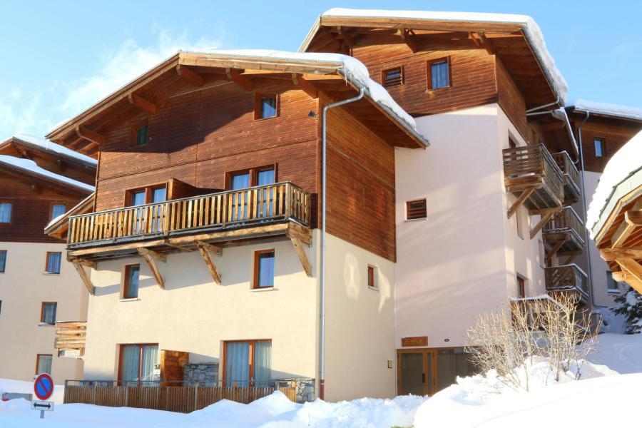 Wakacje w górach Apartament duplex 2 pokojowy z alkową dla 6 osób (E1.76) - La Résidence les Flocons d'Argent - Aussois