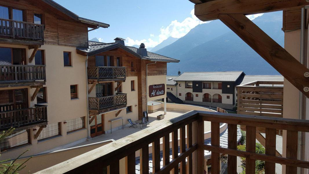 Rent in ski resort 3 room apartment cabin 6 people (E3.86) - La Résidence les Flocons d'Argent - Aussois - Summer outside