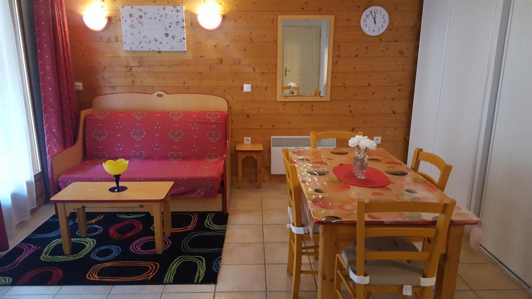 Wakacje w górach Apartament 2 pokojowy 4 osób (G0.150) - La Résidence les Flocons d'Argent - Aussois - Pokój gościnny
