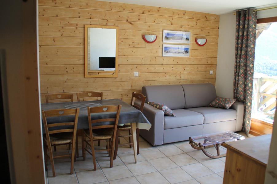 Wakacje w górach Apartament 2 pokojowy kabina 4-6 osób (B2.30) - La Résidence les Flocons d'Argent - Aussois - Pokój gościnny