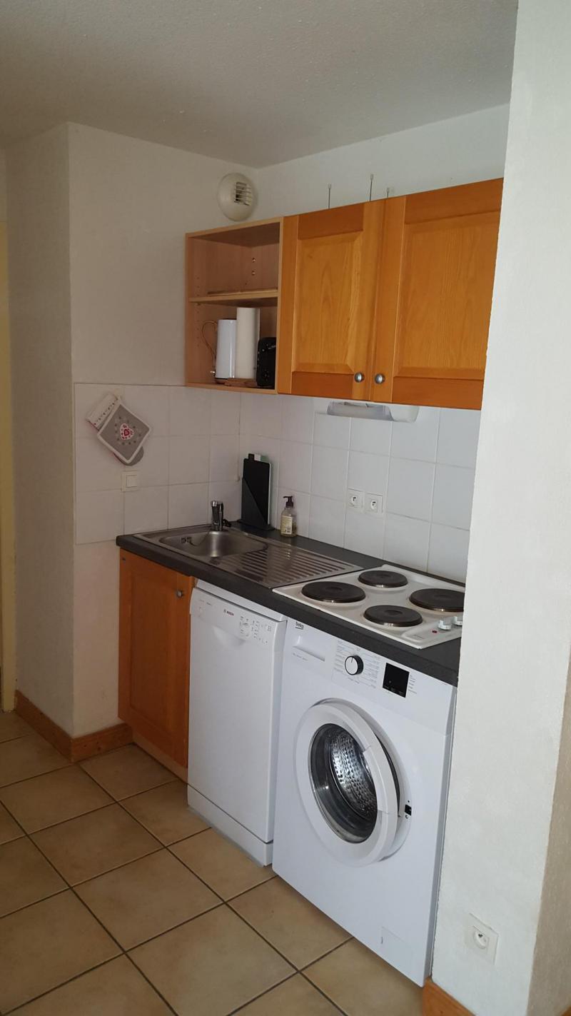 Wakacje w górach Apartament 3 pokojowy 6 osób (H2.195) - La Résidence les Flocons d'Argent - Aussois - Aneks kuchenny