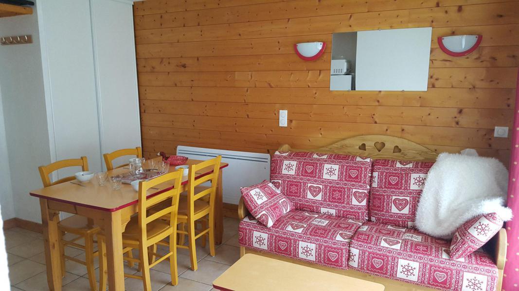 Wakacje w górach Apartament 3 pokojowy 6 osób (H2.195) - La Résidence les Flocons d'Argent - Aussois - Pokój gościnny