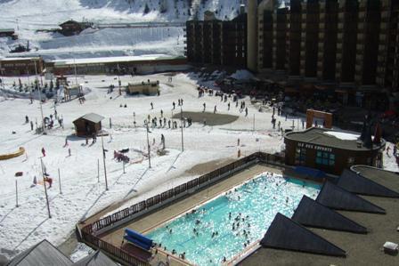 Holiday in mountain resort Studio 4 people (507) - La Résidence les Glaciers - La Plagne