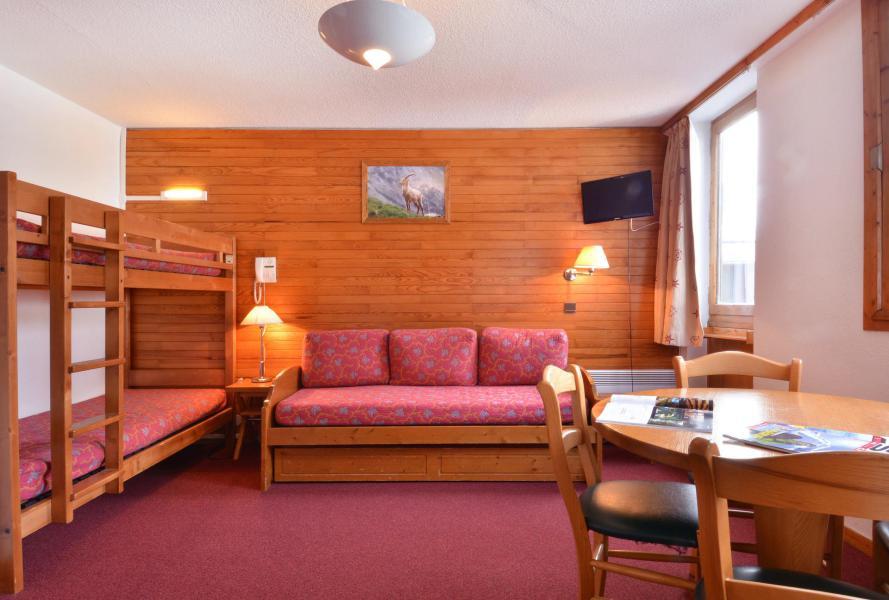 Holiday in mountain resort Studio 4 people (626) - La Résidence les Glaciers - La Plagne