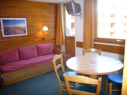 Holiday in mountain resort Studio 4 people (526) - La Résidence les Glaciers - La Plagne
