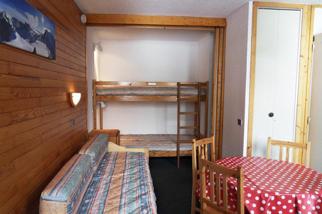 Holiday in mountain resort Studio 4 people (524) - La Résidence les Glaciers - La Plagne