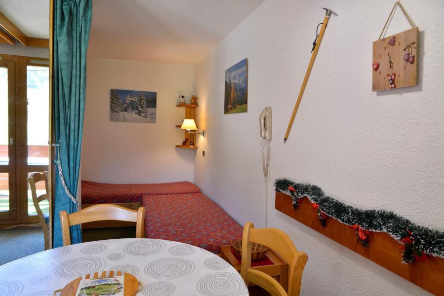 Holiday in mountain resort Studio 4 people (629) - La Résidence les Glaciers - La Plagne - Living room