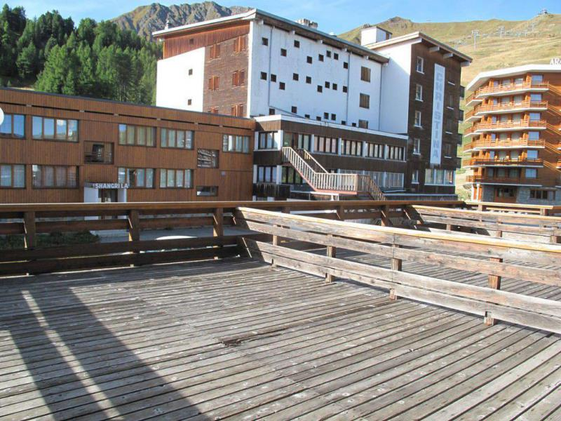 Holiday in mountain resort Studio mezzanine 5 people (33) - La Résidence les Isbas II - La Plagne - Summer outside