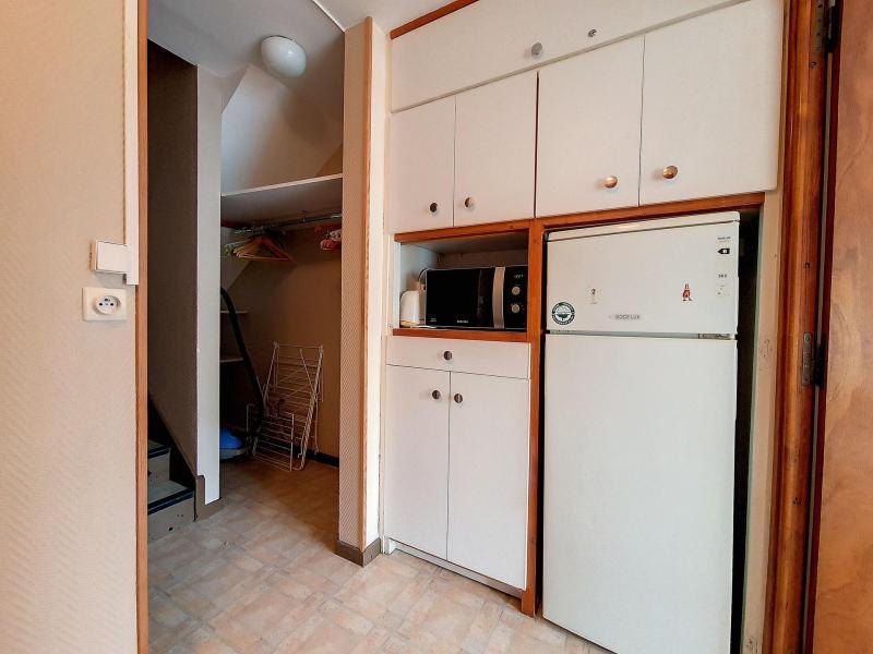 Holiday in mountain resort 2 room duplex apartment 6 people (C8) - La Résidence les Lauzes - Les Menuires - Living area
