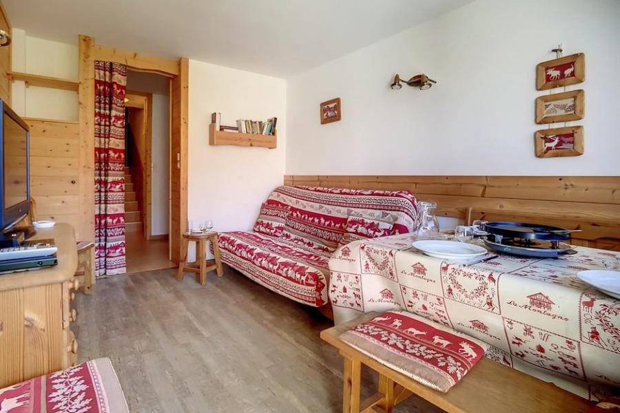 Holiday in mountain resort 2 room duplex apartment 5 people (E18) - La Résidence les Lauzes - Les Menuires - Plan