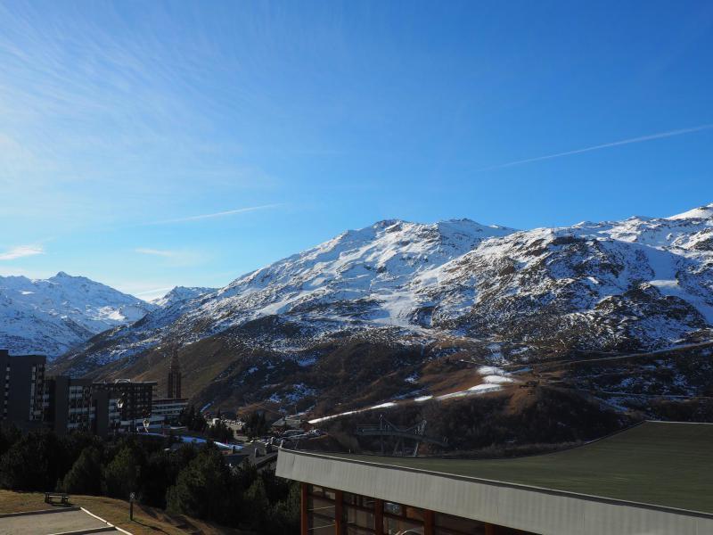 Holiday in mountain resort Studio 4 people (C1) - La Résidence les Lauzes - Les Menuires