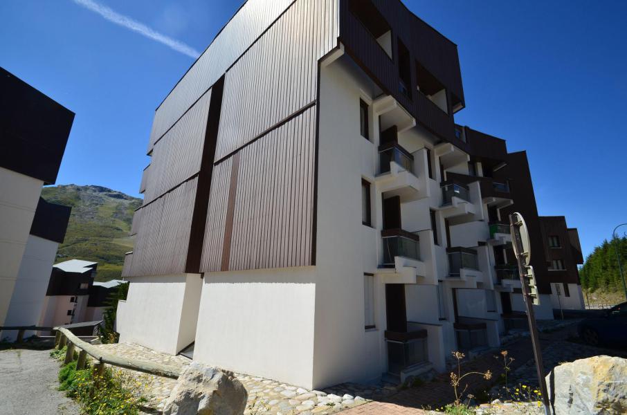 Holiday in mountain resort La Résidence les Mélèzes - Les Menuires