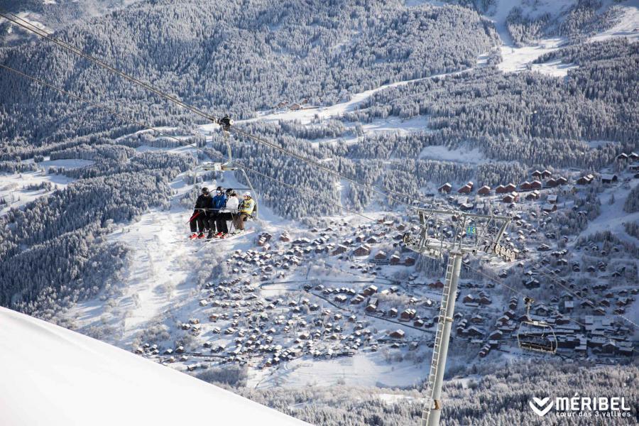 Vacaciones en montaña Estudio para 2 personas (MERA08R) - La Résidence les Merisiers - Méribel