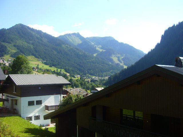 Wakacje w górach Studio z alkową 3 osoby - La Résidence les Montagnys - Châtel - Na zewnątrz latem
