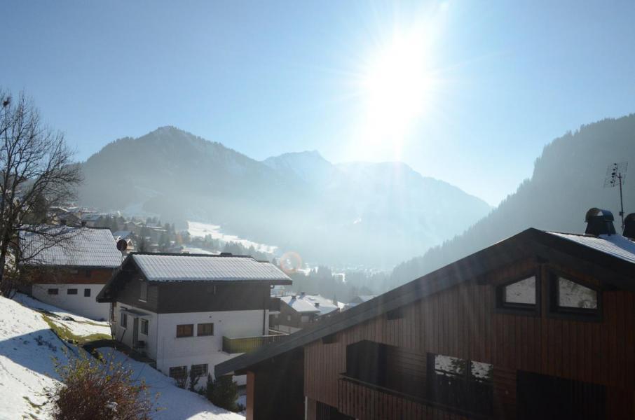 Vacances en montagne Studio coin montagne 3 personnes - La Résidence les Montagnys - Châtel