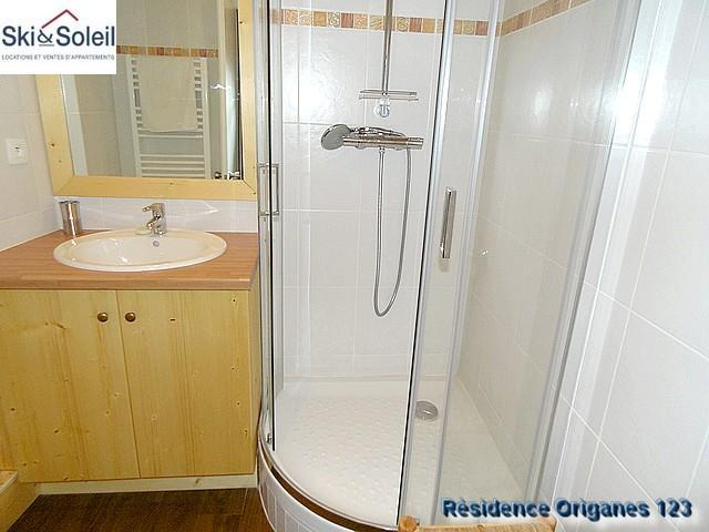Holiday in mountain resort 3 room apartment cabin 5 people (123) - La Résidence les Origanes - Les Menuires - Shower