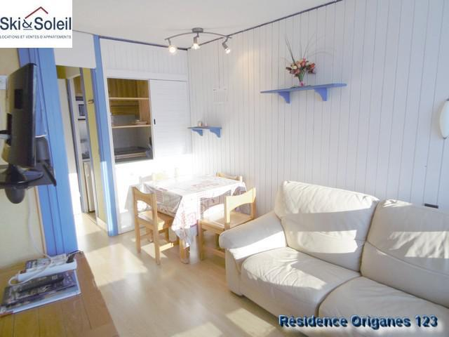 Holiday in mountain resort 3 room apartment cabin 5 people (123) - La Résidence les Origanes - Les Menuires
