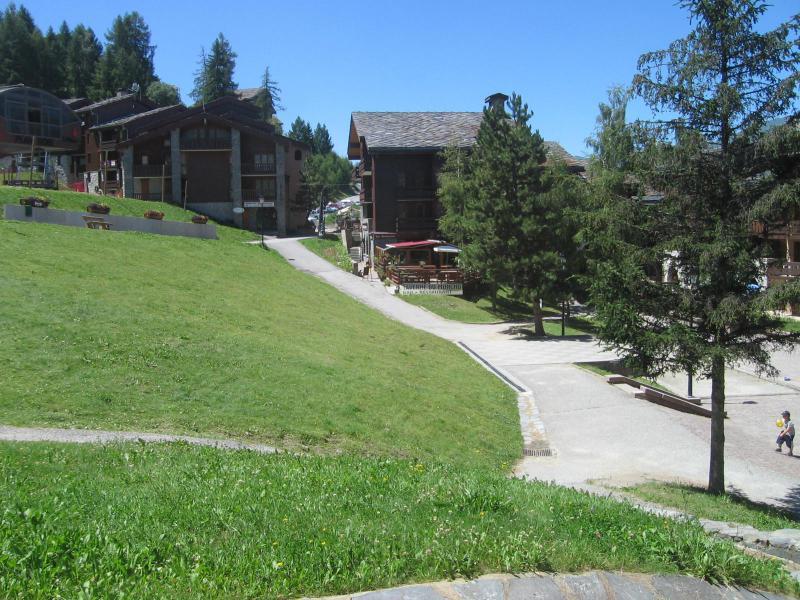 Vacaciones en montaña Estudio para 4 personas (006) - La Résidence les Pentes - Montchavin La Plagne - Verano