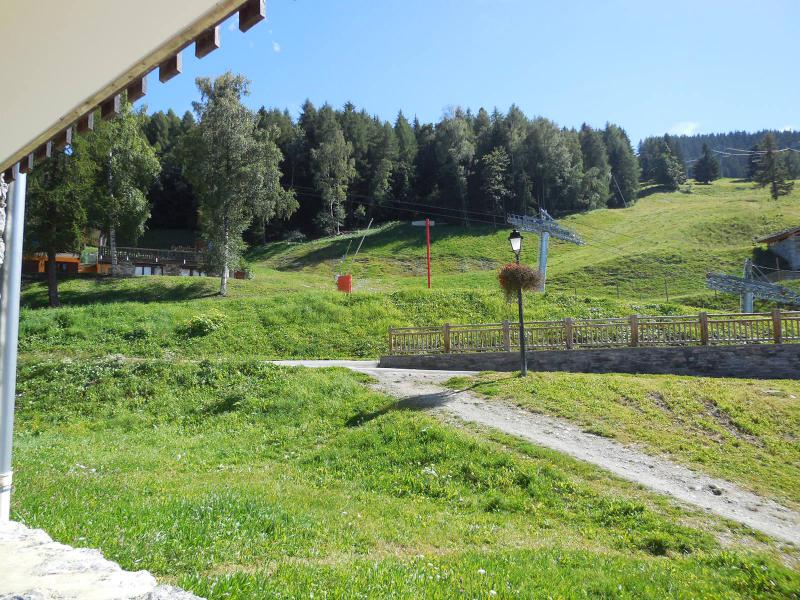 Ski verhuur Studio 2 personen (019) - La Résidence les Pentes - Montchavin La Plagne - Buiten zomer