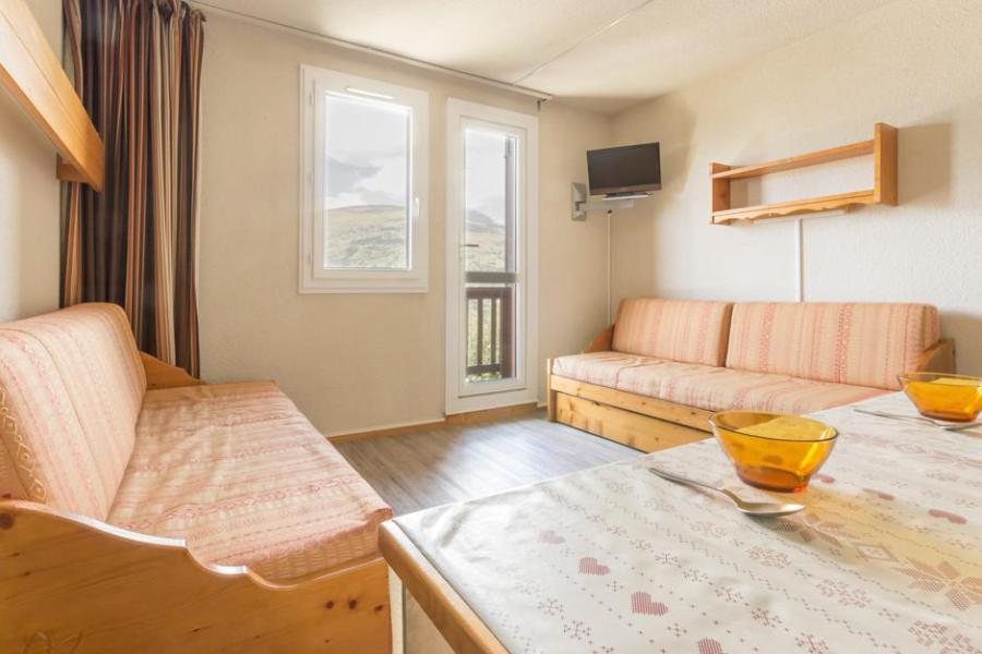 Holiday in mountain resort Studio 4 people (ROC27) - La Résidence les Roches - Montchavin - La Plagne