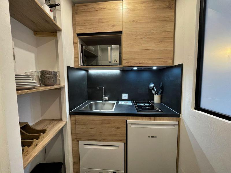 Holiday in mountain resort Studio 2 people (217) - La Résidence les Soldanelles - Les Menuires