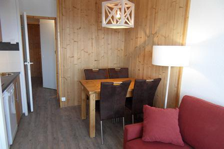 Holiday in mountain resort Studio sleeping corner 4 people (420) - La Résidence Licorne - La Plagne