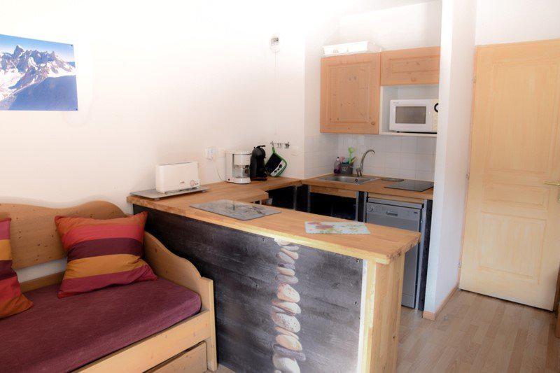Vacaciones en montaña Apartamento cabina para 5 personas (NG11) - La Résidence Neige et Golf - Montgenèvre - Kitchenette