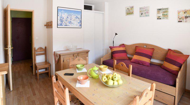Vacances en montagne Studio cabine 5 personnes (NG11) - La Résidence Neige et Golf - Montgenèvre - Séjour