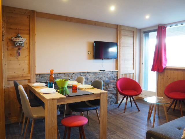 Vacaciones en montaña Apartamento 4 piezas para 6 personas (0003) - La Résidence Oisans - Les Menuires - Habitación