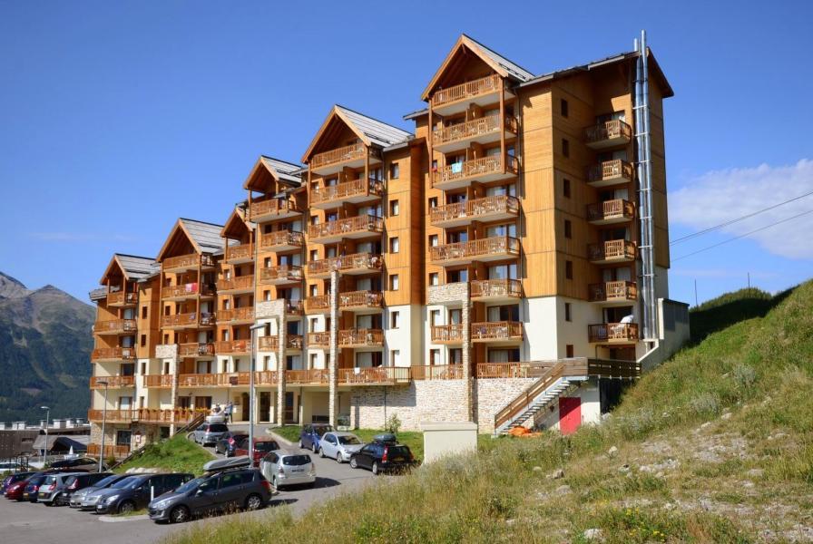 Location au ski La Residence Rochebrune - Orcières Merlette 1850 - Extérieur été