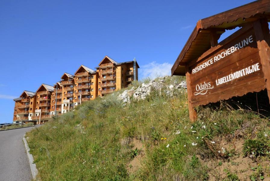 Vacances en montagne La Résidence Rochebrune Le Vallon - Orcières Merlette 1850 - Extérieur été