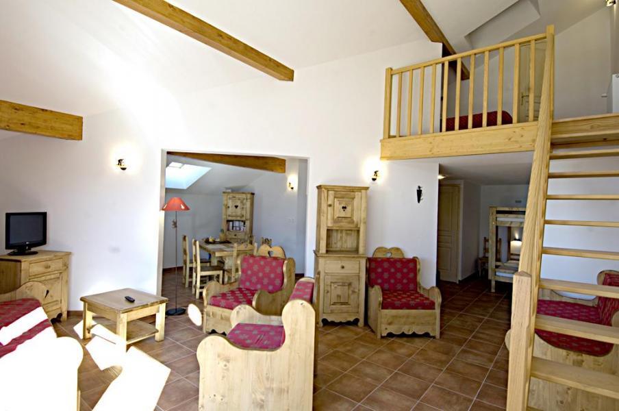 Vacances en montagne La Résidence Rochebrune Le Vallon - Orcières Merlette 1850 - Mezzanine