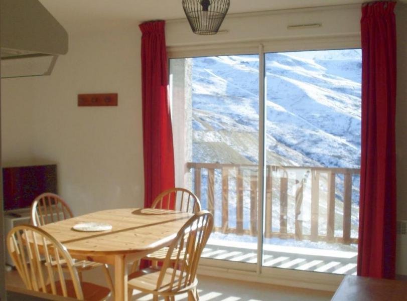 Wakacje w górach Studio z alkową 4 osoby (52) - La Résidence Royal Peyragudes - Peyragudes - Pokój gościnny