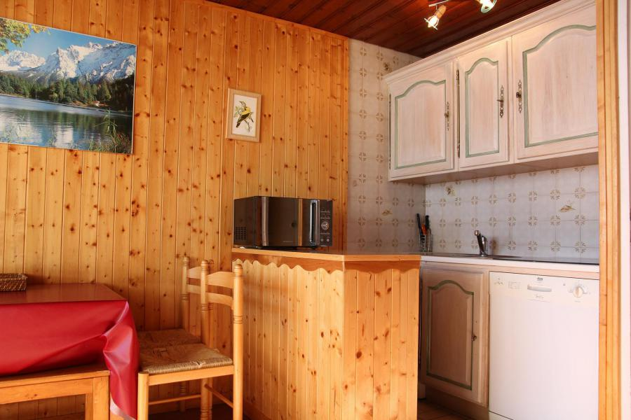 Holiday in mountain resort Studio cabin 4 people (T6) - La Résidence Sérac - Val Thorens