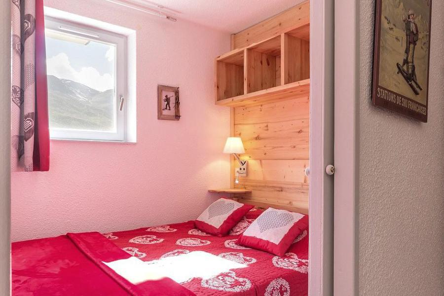 Urlaub in den Bergen 2-Zimmer-Berghütte für 4 Personen (2102) - La Résidence Ski Soleil - Les Menuires - Doppelbett