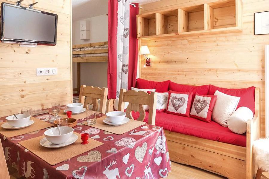 Urlaub in den Bergen 2-Zimmer-Berghütte für 4 Personen (2102) - La Résidence Ski Soleil - Les Menuires - Wohnzimmer