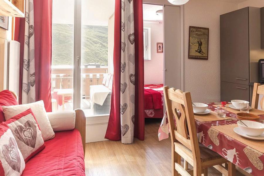 Urlaub in den Bergen 2-Zimmer-Berghütte für 4 Personen (2102) - La Résidence Ski Soleil - Les Menuires