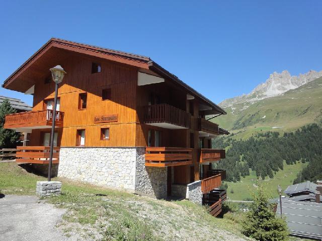Location au ski La Residence Sonnailles - Mottaret - Extérieur été