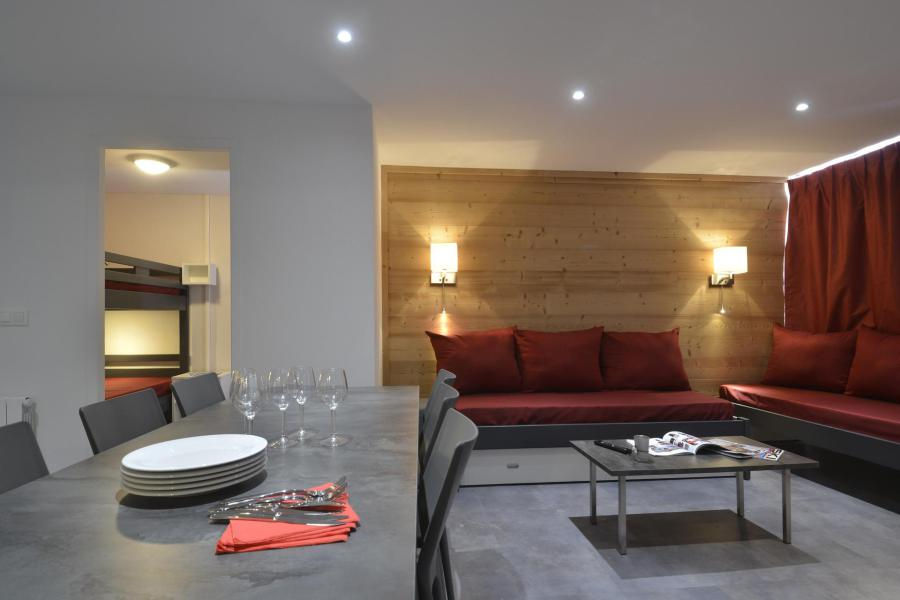 Holiday in mountain resort 4 room apartment 8 people (703) - La Résidence St Jacques - La Plagne - Settee