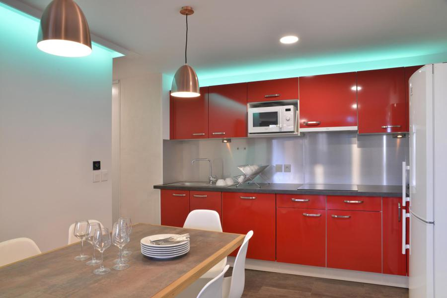 Holiday in mountain resort 5 room apartment 11 people (417) - La Résidence St Jacques - La Plagne - Open-plan kitchen
