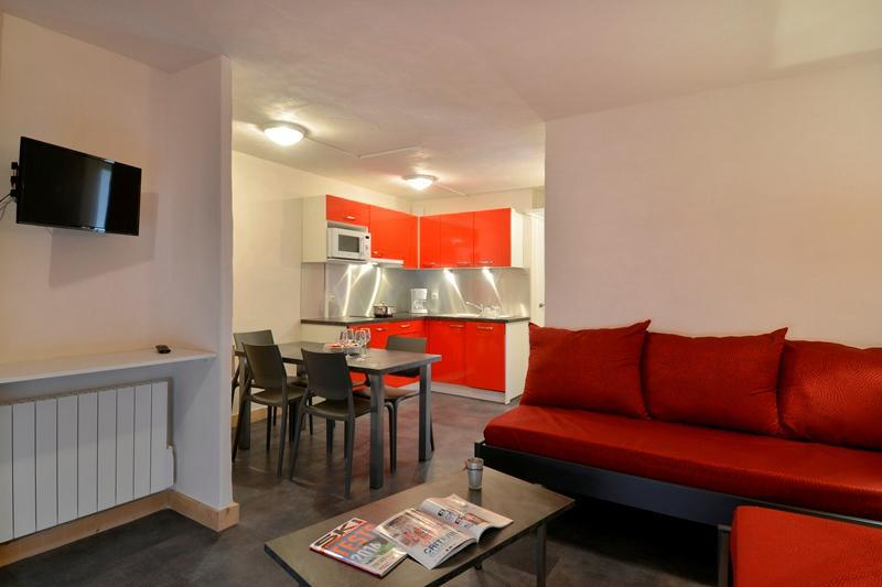 Holiday in mountain resort 2 room apartment 5 people (709) - La Résidence St Jacques - La Plagne