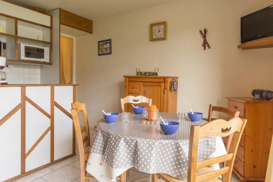 Holiday in mountain resort Studio sleeping corner 4 people (0607) - La Résidence Vostok Zodiaque - Le Corbier
