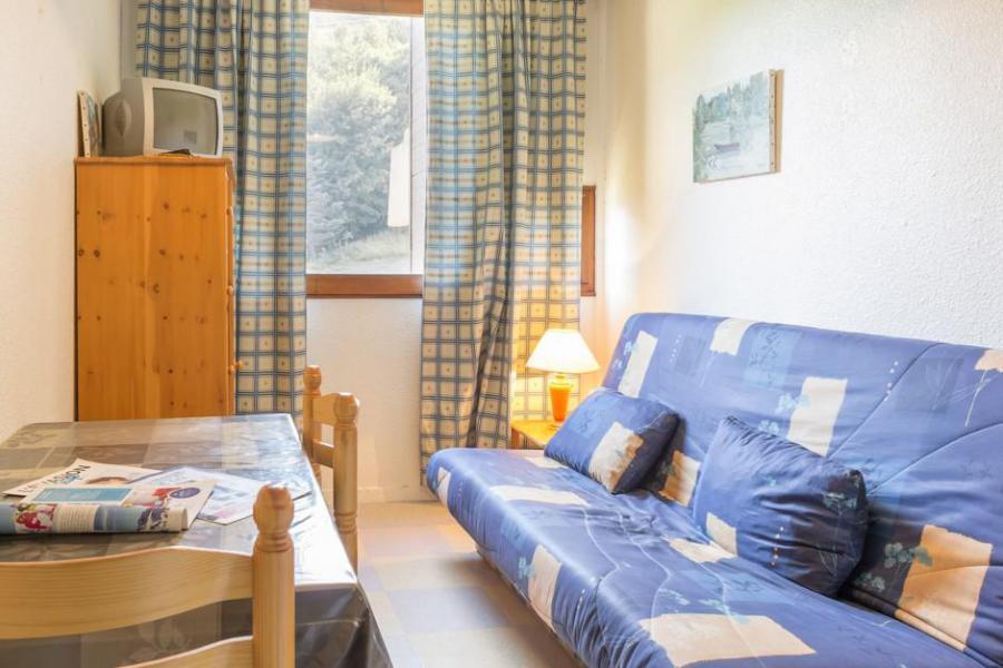 Holiday in mountain resort Studio 2 people (0414) - La Résidence Vostok Zodiaque - Le Corbier - Living room