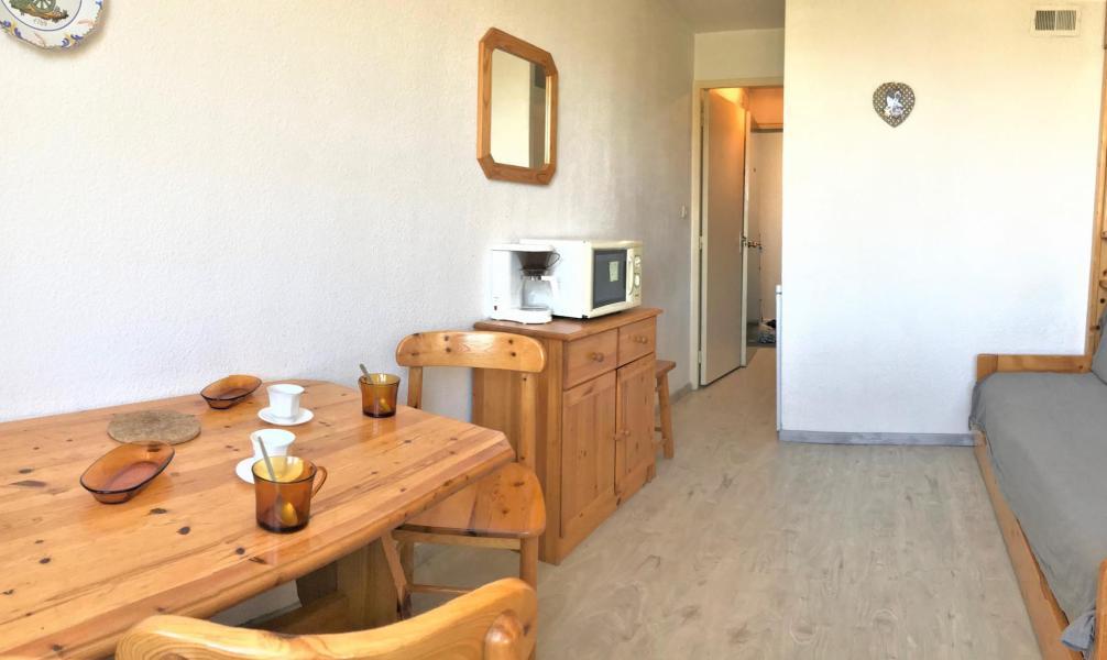 Holiday in mountain resort Studio 3 people (1503) - La Résidence Vostok Zodiaque - Le Corbier - Living room
